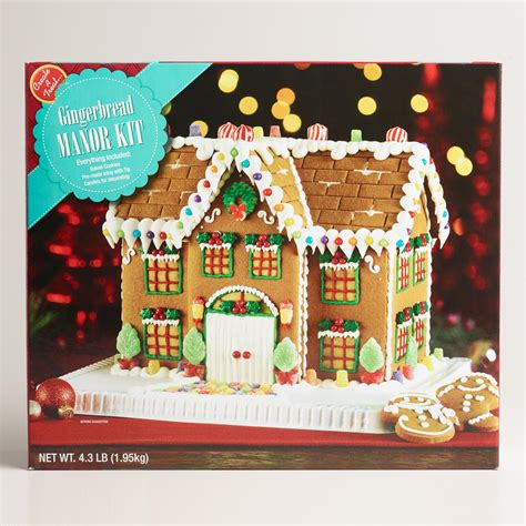 gingerbread house kits for sale manor gingerbread house kit world market