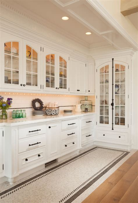 White Kitchen Cabinet Hardware Ideas Kitchen Cabinet Hardware Ideas Kitchen Traditional With Arched Cabinets Black And White Butler