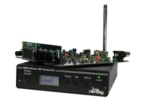 Transmitter Tv Digital ramsey fm30b fm transmitter
