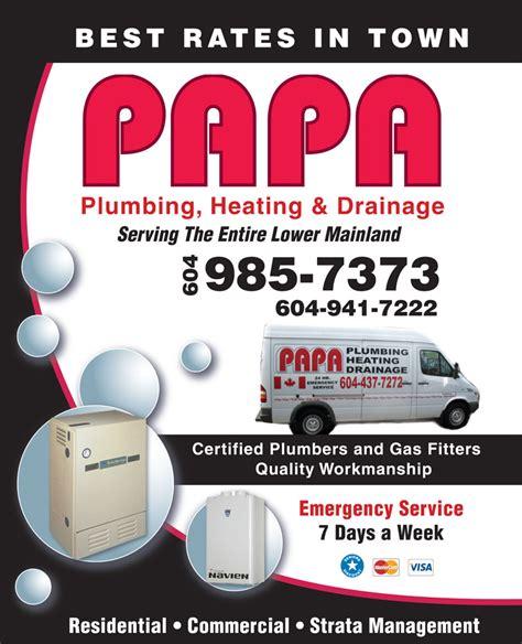 Papa Plumbing by Papa Plumbing Heating Ltd Canpages