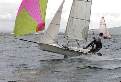 skiff sailing club scottish skiffs at prestwick sailing club cherub report