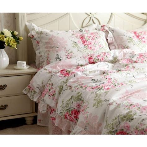 rose comforter set pink rose bedding set