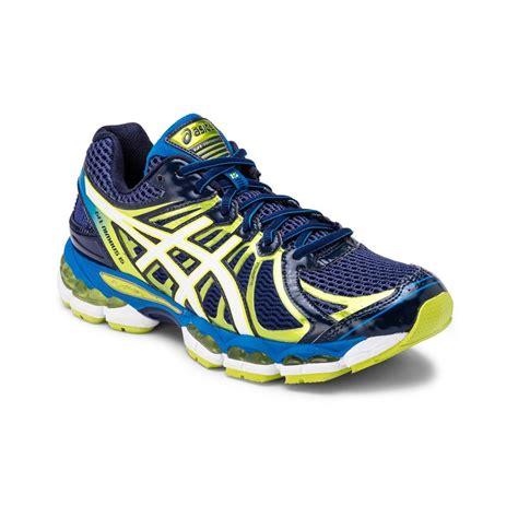 asics gel nimbus 15 mens running shoes blue depths