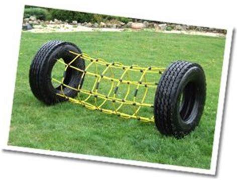 columpios de llantas recicladas cargo net tyre tunnels bright fun and new tyre