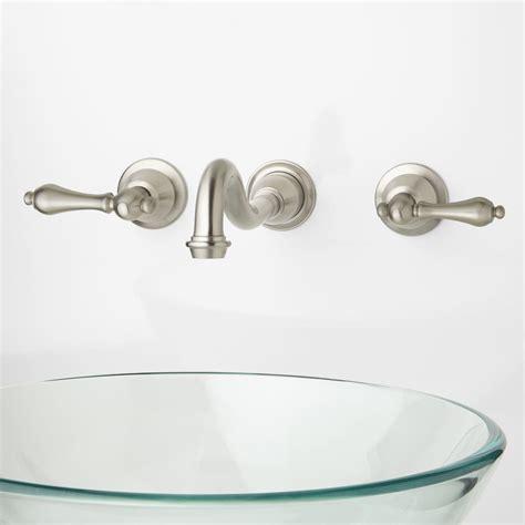 wall mounted bathroom sink faucet arianna wall mount bathroom faucet bathroom