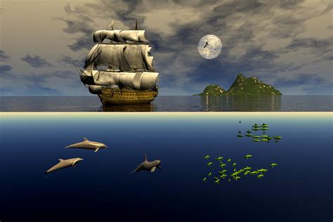 above and below above and below digital art by claude mccoy