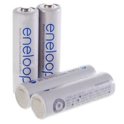 Baterai Batere Sanyo Enelop Aa Rechargeable Bisa Di Cas Ulang 1 sanyo eneloop 4 aa rechargeable battery pack