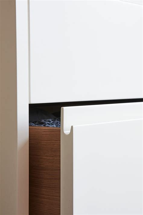 pull routed handle detail kitchen handles kitchen