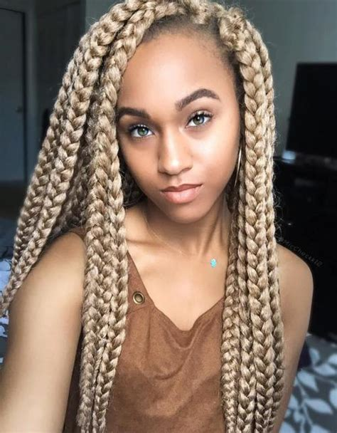 blonde braids in hair black women 20 eye catching ways to style dookie braids
