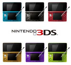 3ds colors nintendo 3ds color variations by mjnj0726 on deviantart