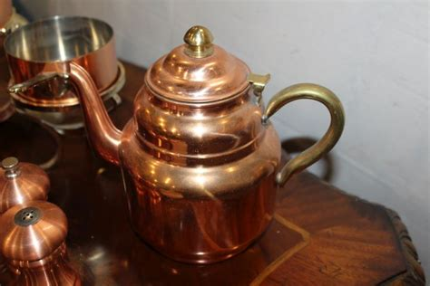 selection of copper kitchen items