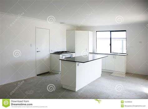 Empty kitchen stock photo. Image of contemporary, floor