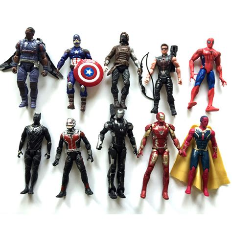 Figure Civil War 5pcs Captain Americaironmanavengermarvelsuperhero 1 compare prices on war machine toys shopping buy