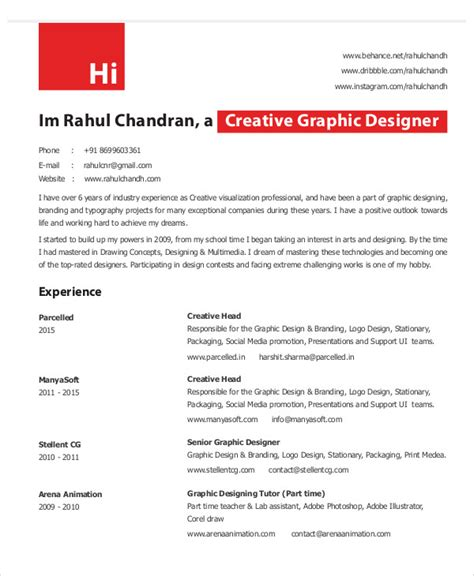 cv for graphic designer pdf military bralicious co