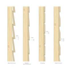 Used Shiplap For Sale Cladding Figure 6 Typical Solid Timber Cladding