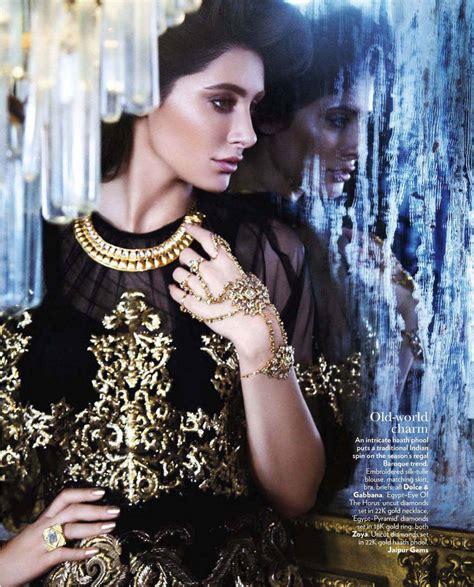 Vogue India by Nargis Fakhri Vogue Magazine Xcitefun Net