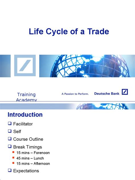trade cycle diagram investment banking trade cycle settlement finance