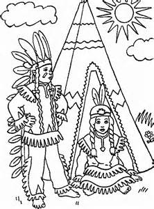indian coloring pages coloringpagesabc