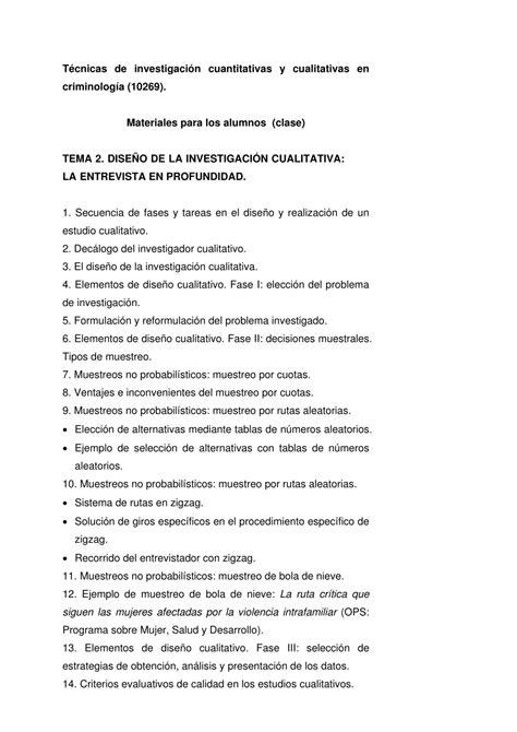 preguntas en una entrevista a profundidad pdf dise 241 o de investigaci 243 n cualitativa y la entrevista