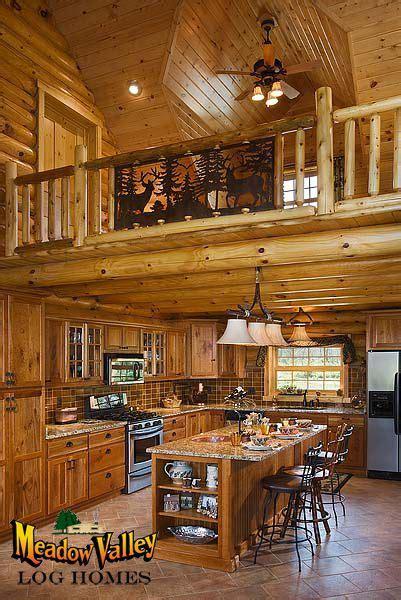 kitchen  sitting loft  home pinterest log