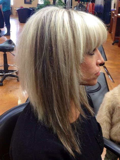aline lob haircut aline bob bobs and brown on pinterest