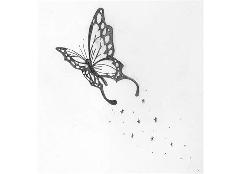 butterfly drawings simple pencil drawing collection