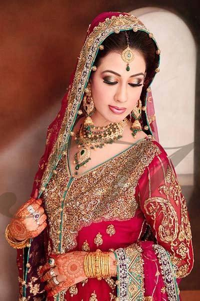 bridal makeup videos 2016 indian pakistani and arabic latest pakistani indian wedding dresses 2016 17 collection