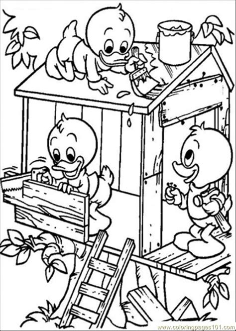 Coloring Pages Ng A Tree House Coloring Page Architecture Treehouse Coloring Pages