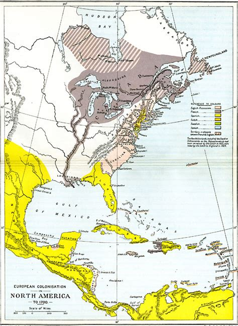 pattern of french settlement in north america european colonization in north america