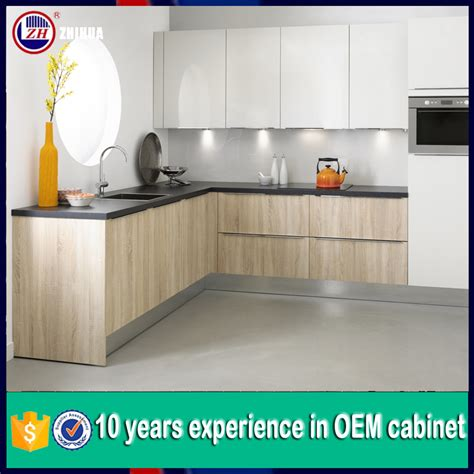 melamine kitchen cabinet doors cheap kitchen cabinet door lacquer and melamine mixed