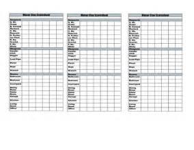 clue card template clue score sheet template crafts