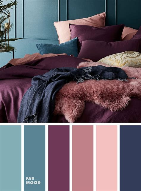 peach mauve purple navy blue  purple colour palette
