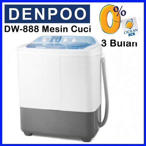 Mesin Cuci Kapasitas 10 Kg buy denpoo mesin cuci 2 tabung kapasitas 8 kg deals for