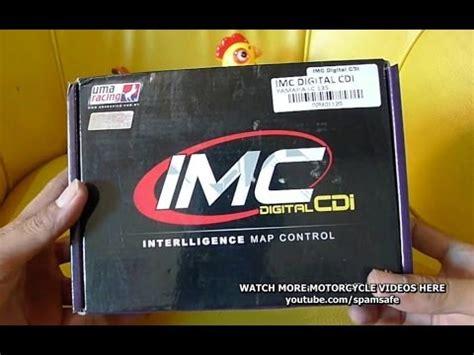 Cdi Jupiter Mx Uma Racing unboxing uma racing cdi intelligent map imc