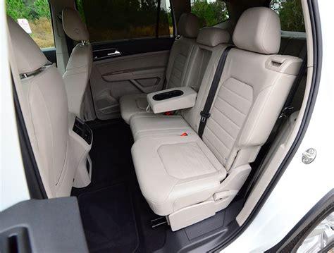 volkswagen atlas sel interior 2018 volkswagen atlas v6 sel premium 4motion review test