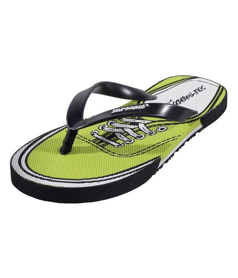 buy rubber st solethreads yellow rubber flip flops st shoe price in