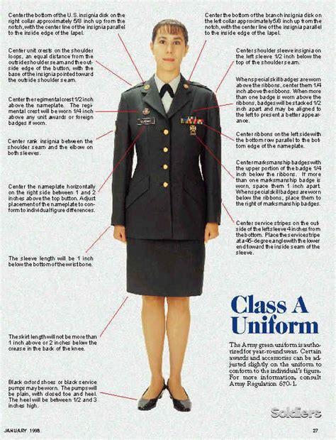 uniforms regulations on pinterest armies navy uniforms and army class a uniform uniforms pinterest army