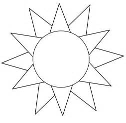 Template Of A Sun by Sun Template Printable Free Loving Printable