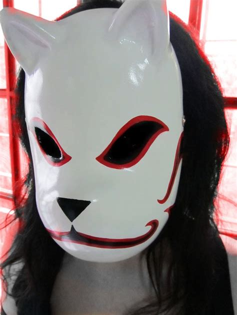 Kitsune Mask Papercraft - best 25 kakashi anbu mask ideas on anbu mask