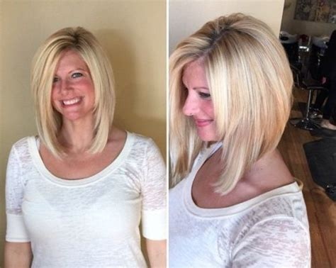 long angled bob only i would want it slightly longer in 50 trendy inverted bob haircuts sexy bobs und