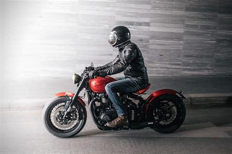 Modification Motorcycles by 2017 Triumph Bonneville Bobber By Modification Motorcycles