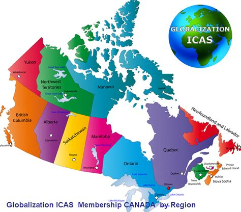 canada map with names membership canada globalization icas