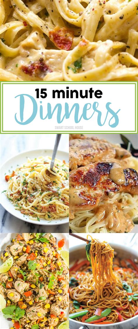 the busy cookbook 15 minute express dinners when you re just busy 40 recipes included books 15 minute dinner ideas page 9 of 17 smart school house