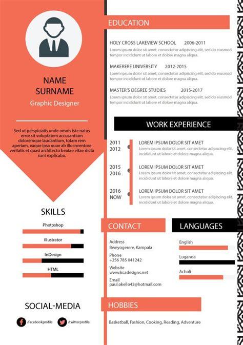 format cv kreatif best 25 graphic designer resume ideas on pinterest