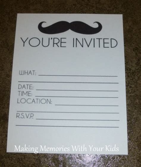 hp invitation templates free