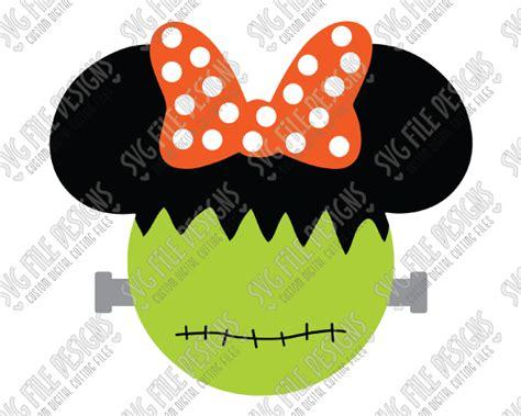 Vg Set Minnie Yukenzi minnie mouse frankenstein svg cut file set for disney shirts