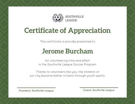 gratitude certificate template customize 89 appreciation certificate templates