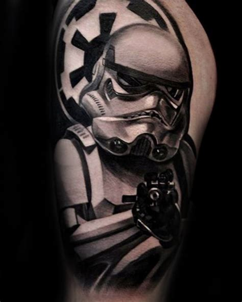 imperial stormtrooper half sleeve tattoos for guys