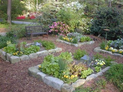 Rock Vegetable Garden Best 25 Raised Beds Ideas On Raised Bed Planting Garden Design And Corner Garden