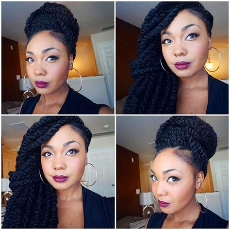 cute hairstyles for no edges whimsical twist hairstyles for black women hairstyles